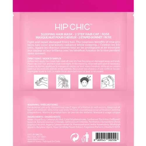 Sleeping Hair Mask Rose Hip Chic Lovely Cute Chic
